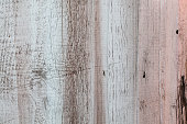 Painted colorful wooden walls background.