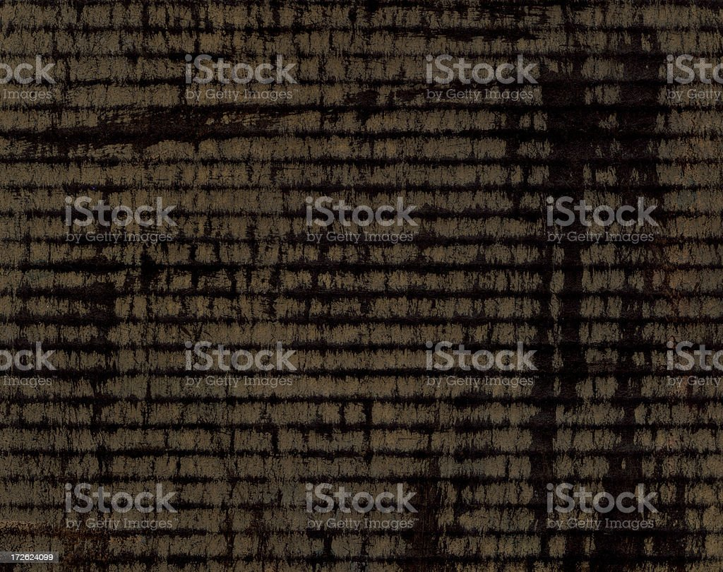 Painted Corrugated Cardboard royalty-free stock photo