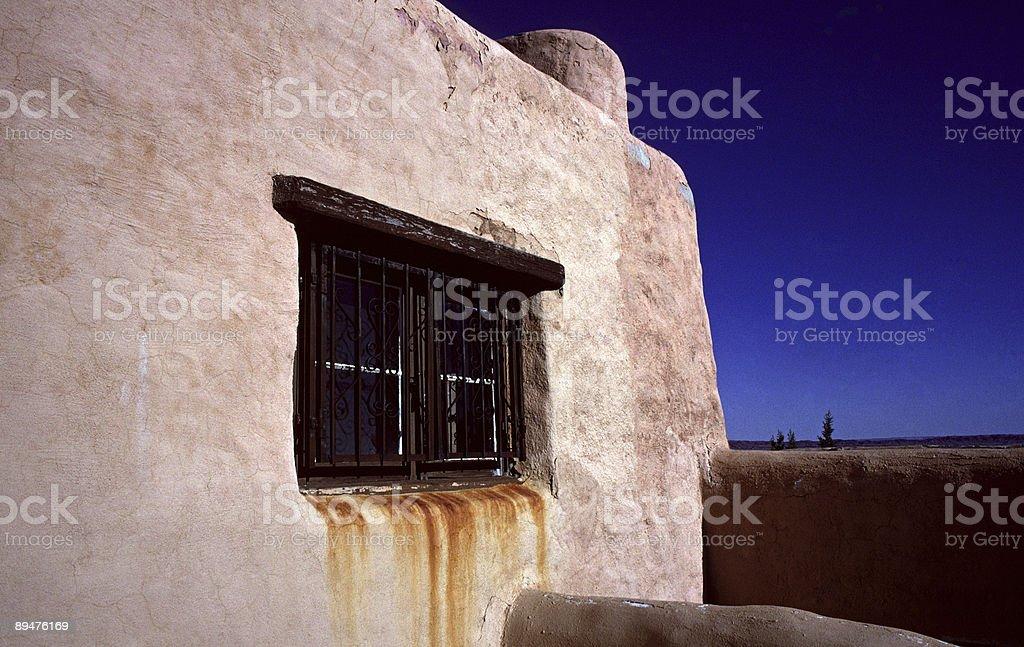 Painted Desert Inn, Arizona stock photo