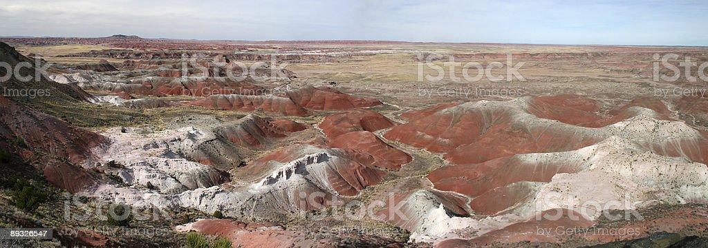 Painted Desert - Panorama royalty-free stock photo