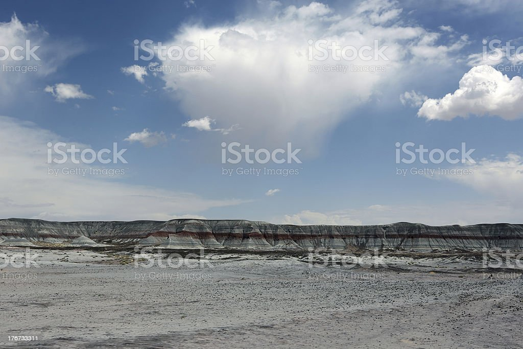 Painted Desert stripes royalty-free stock photo