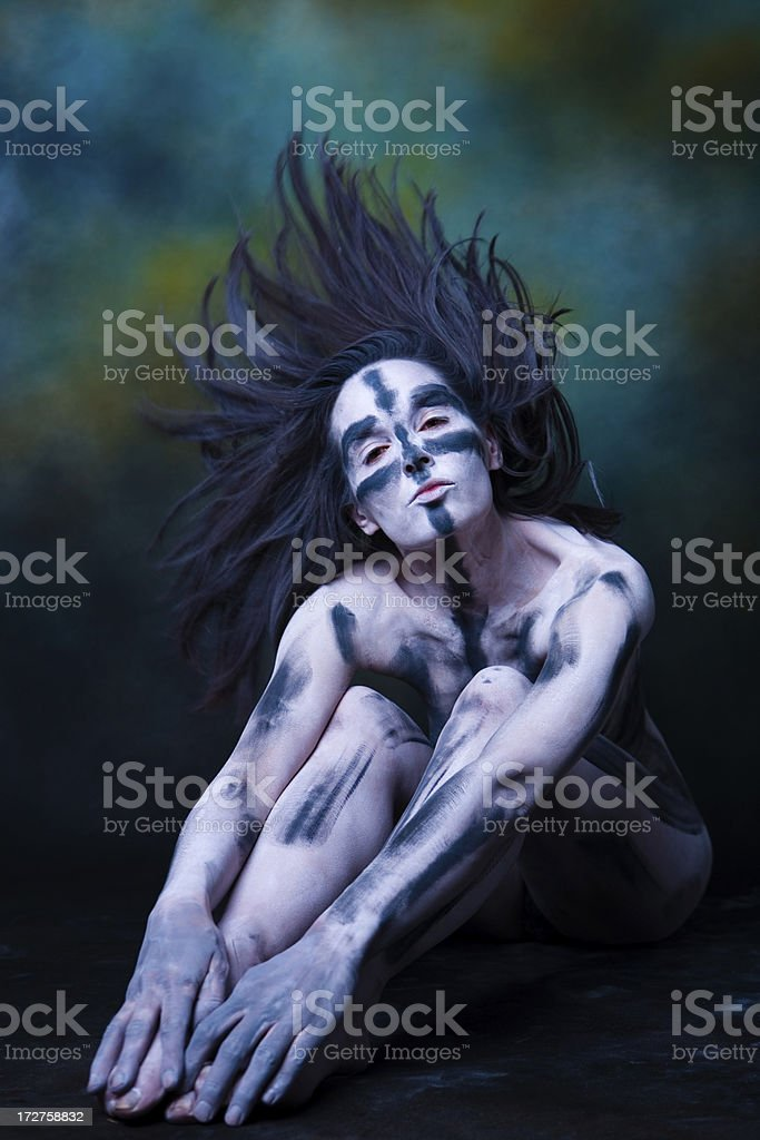 Painted dreams royalty-free stock photo