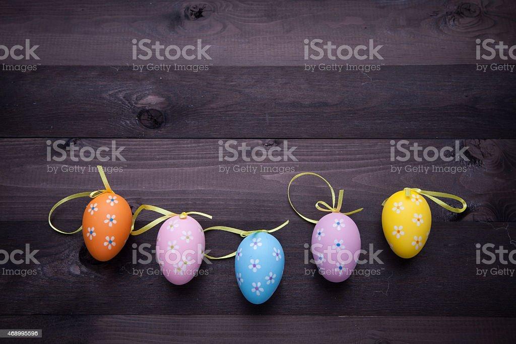 Huevos pintados foto de stock libre de derechos