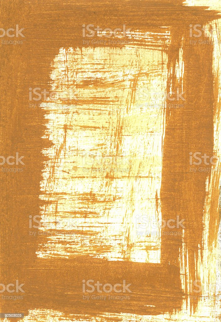 Painted Frame Background royalty-free stock photo