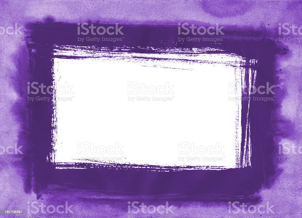 painted frame royalty-free stock photo