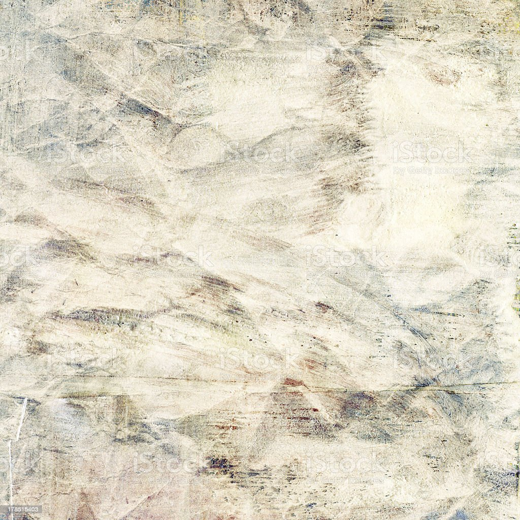 Painted grunge paper texture with space for text royalty-free stock photo