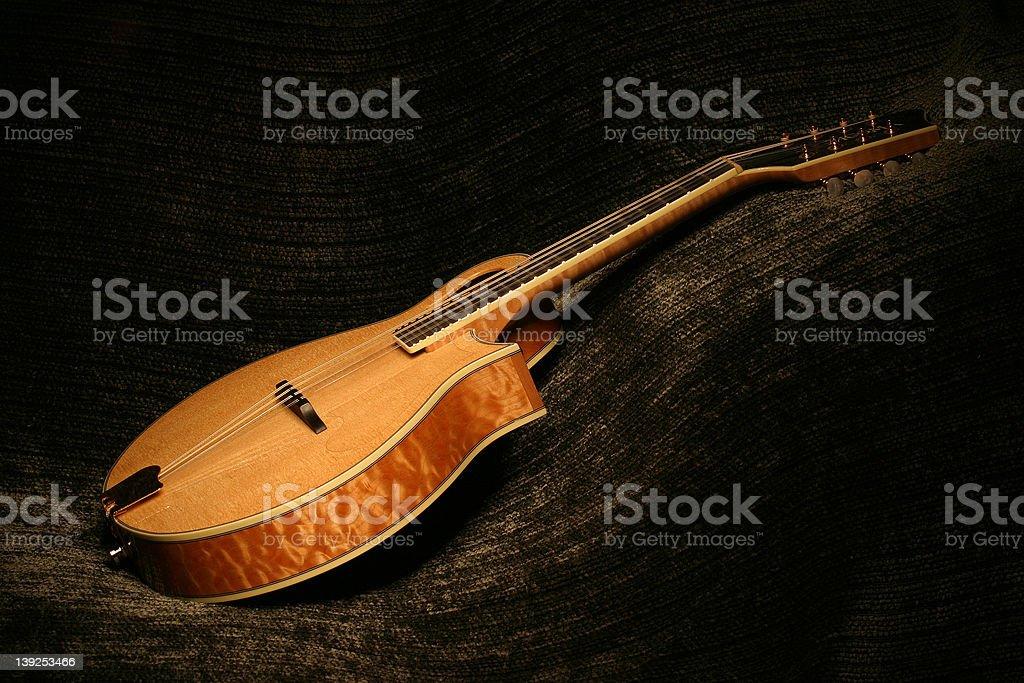 Painted Mandolin stock photo
