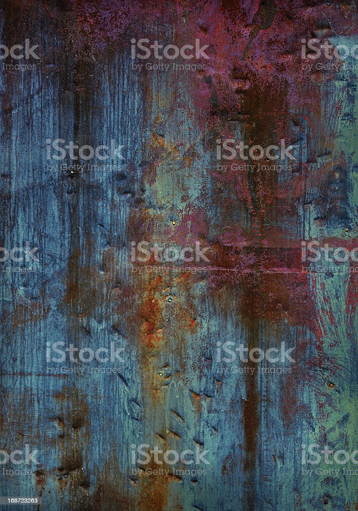 Painted metallic texture royalty-free stock photo