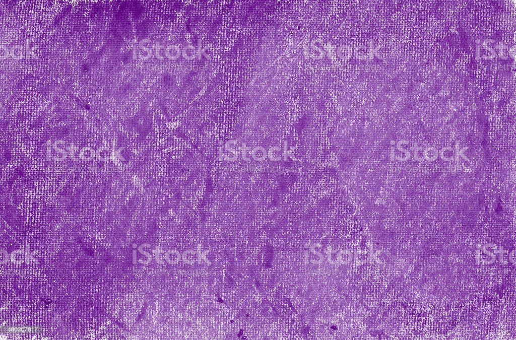 Painted on paper crayon purple background stock photo