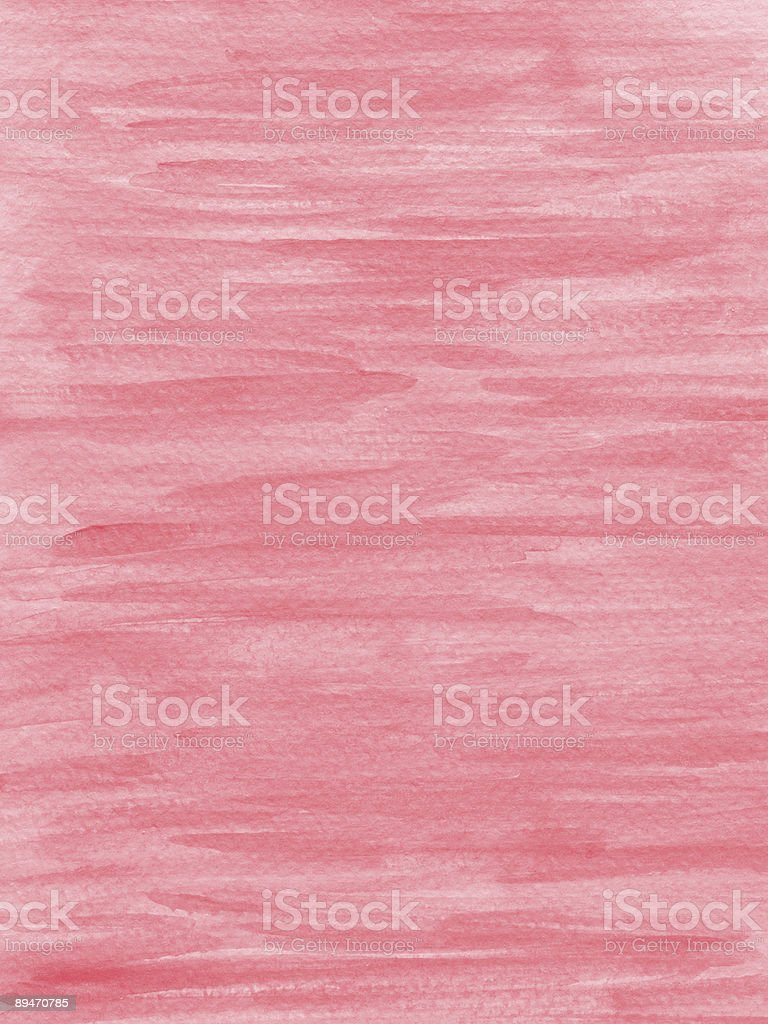 Painted pink background on textured paper royalty-free stock photo