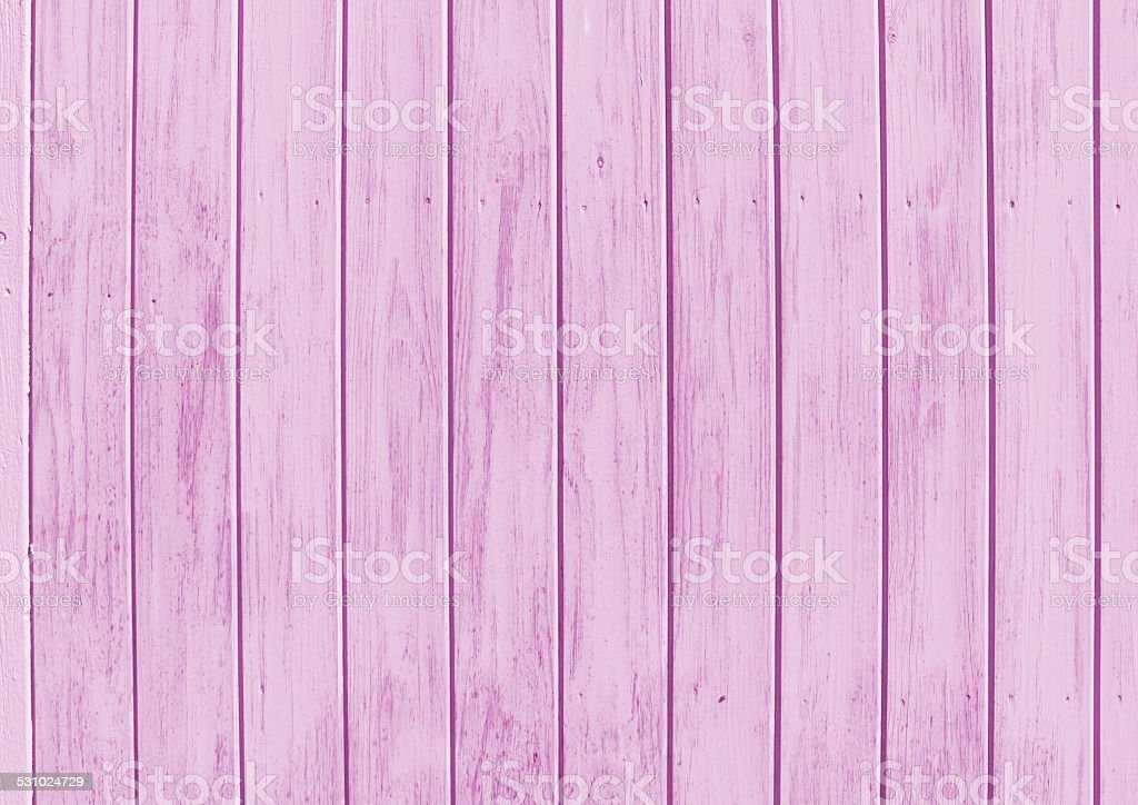 Painted pink wood stock photo