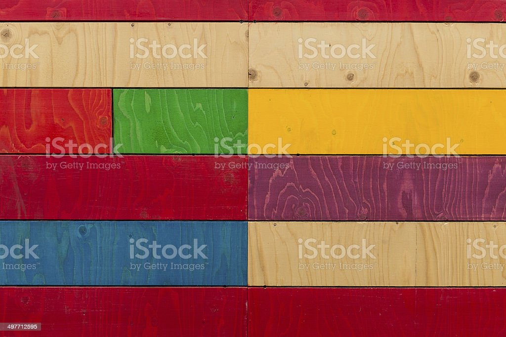 Painted Plywood Background royalty-free stock photo