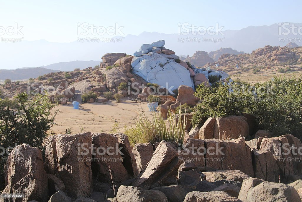 Painted Rocks royalty-free stock photo