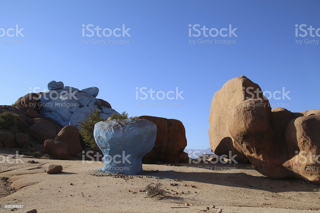 Painted Rocks royalty-free stock photo