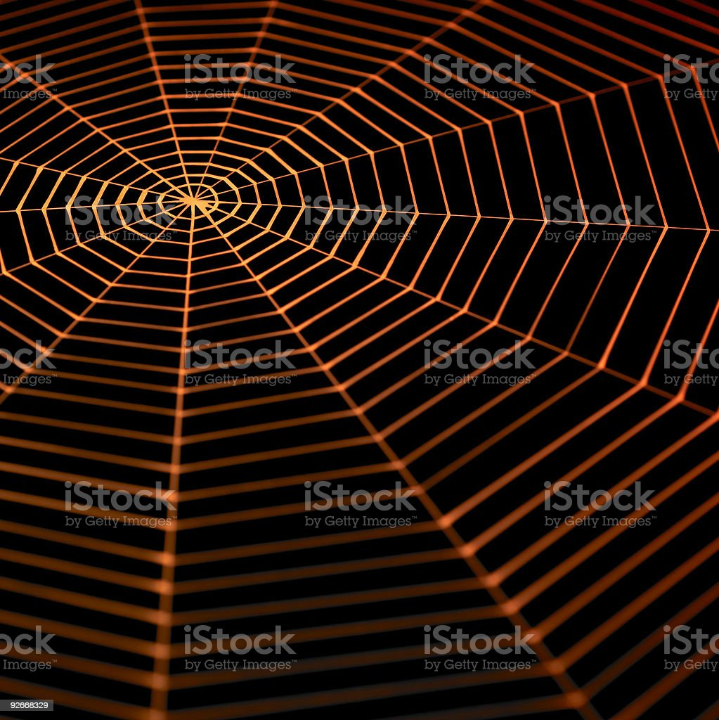 painted spiderweb royalty-free stock photo