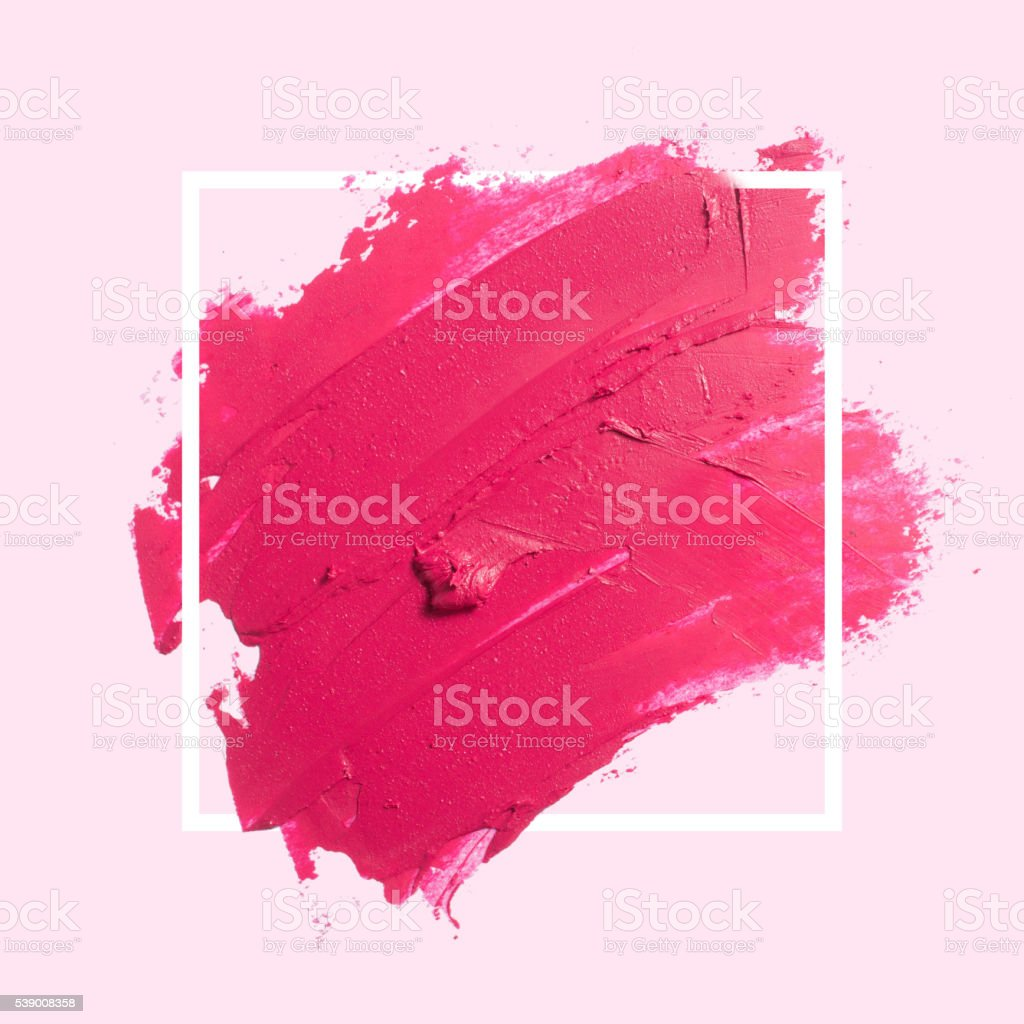 painted textured red brush background stock photo