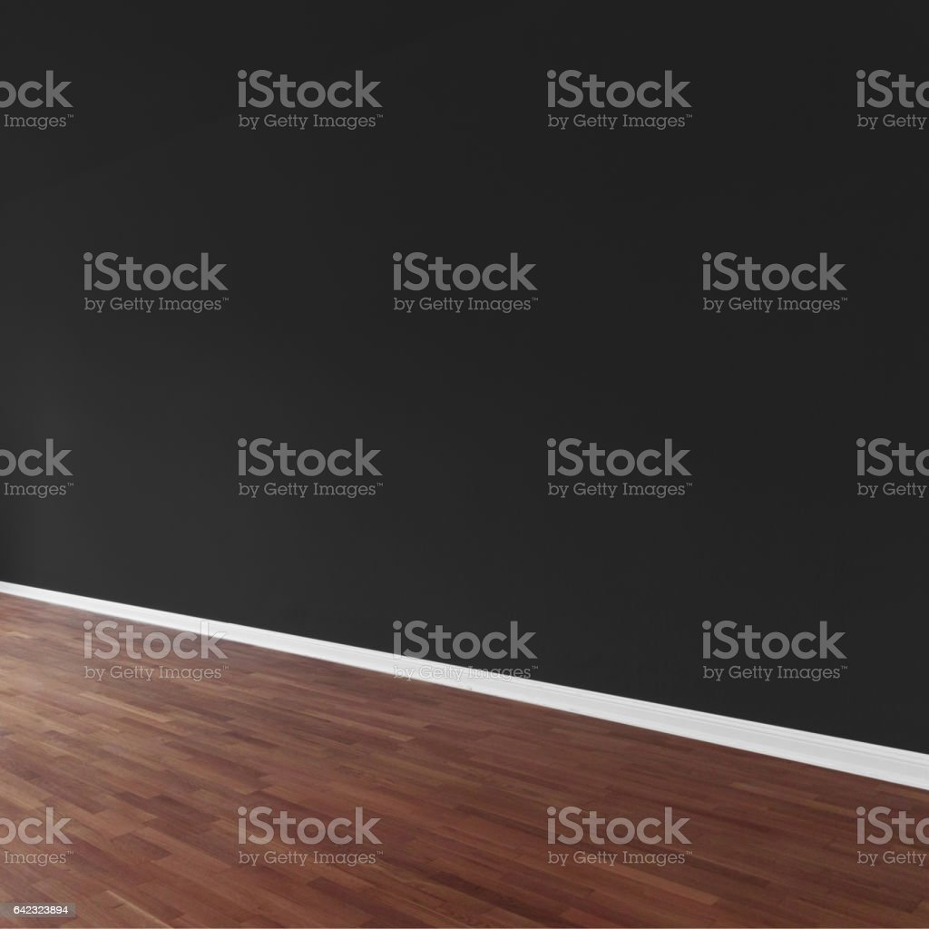 painted wall background in apartment stock photo