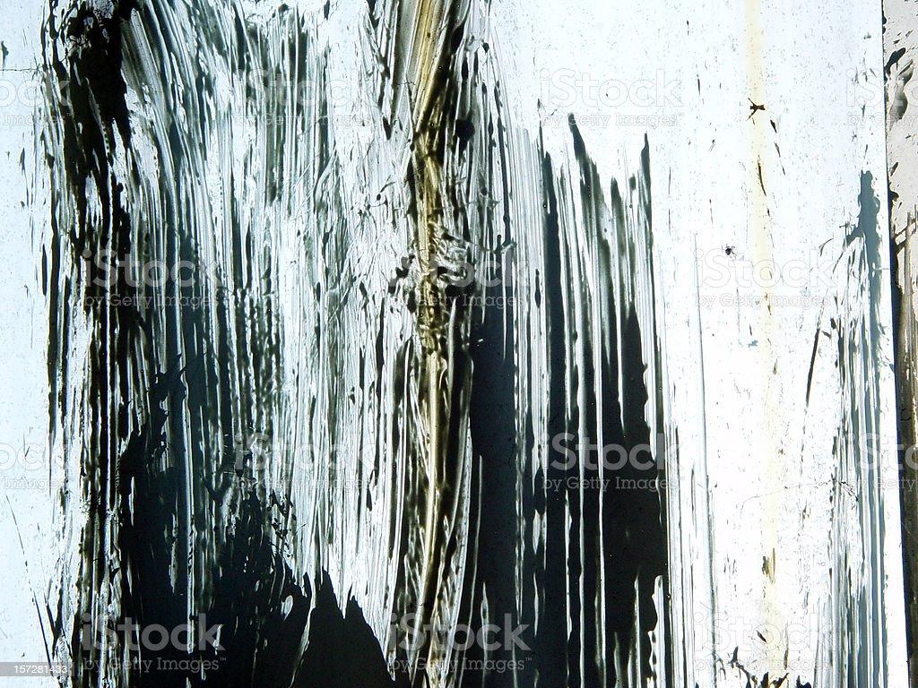 Painted Window texture stock photo