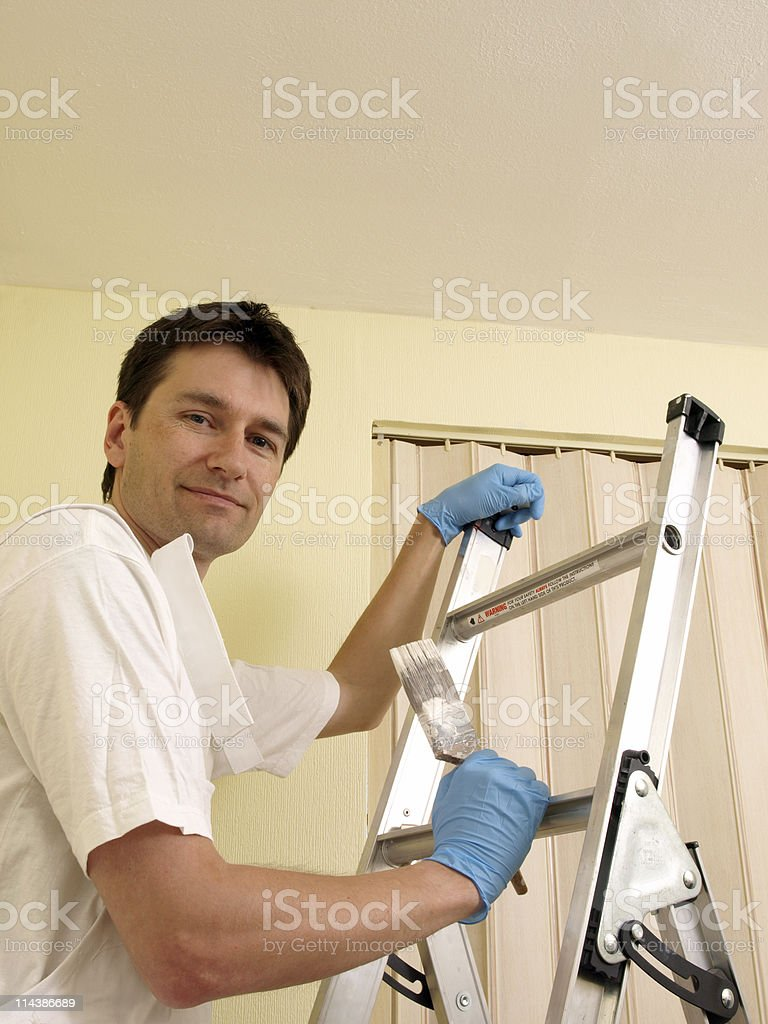 Painter and Decorator royalty-free stock photo