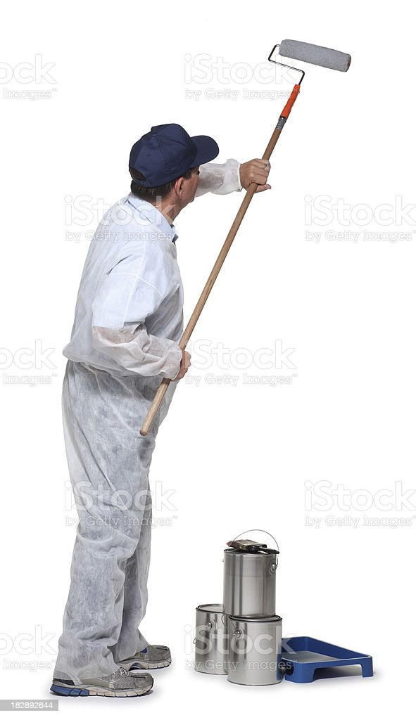 Painter stock photo