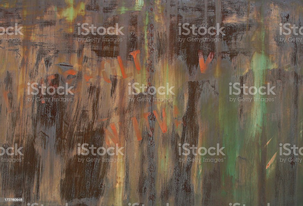 Painterly Metal Background royalty-free stock photo