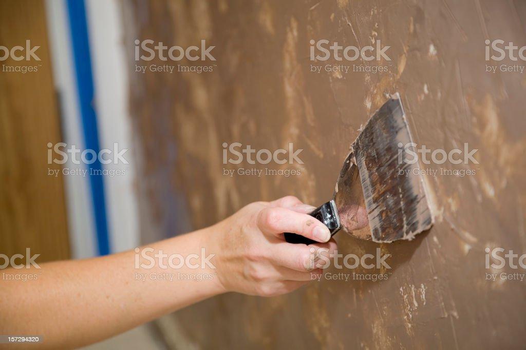 Painter's Hand stock photo