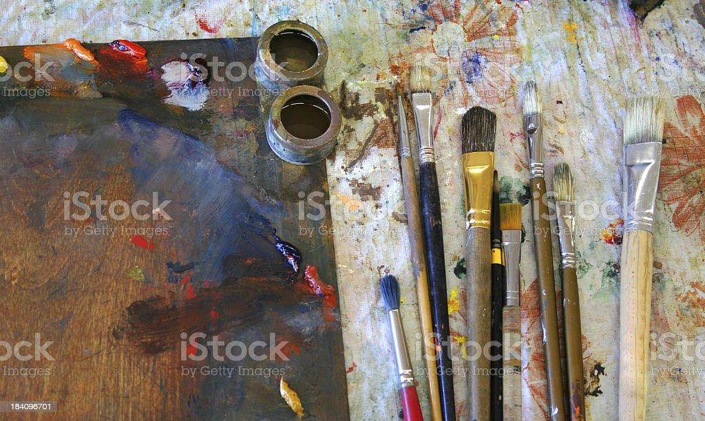 Painters tools v2 royalty-free stock photo