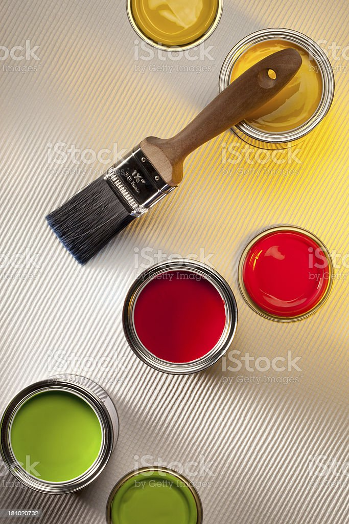 Painting and Decorating - Interior Design stock photo