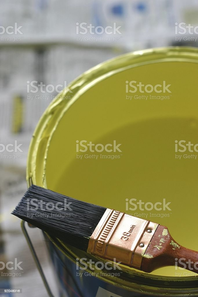 Painting and Decorating royalty-free stock photo