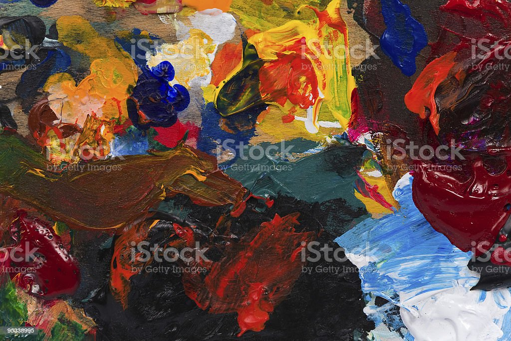 Painting Background royalty-free stock photo