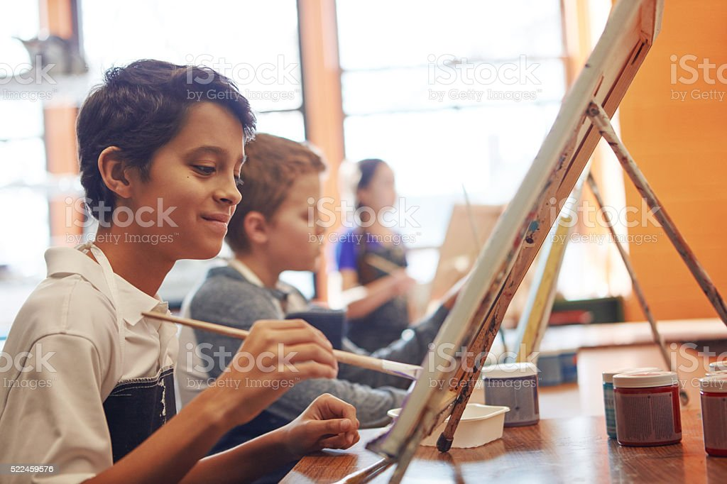 Painting by heART stock photo