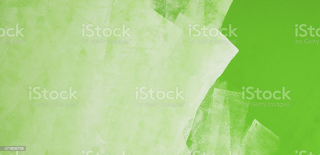 Painting green wall, background royalty-free stock photo