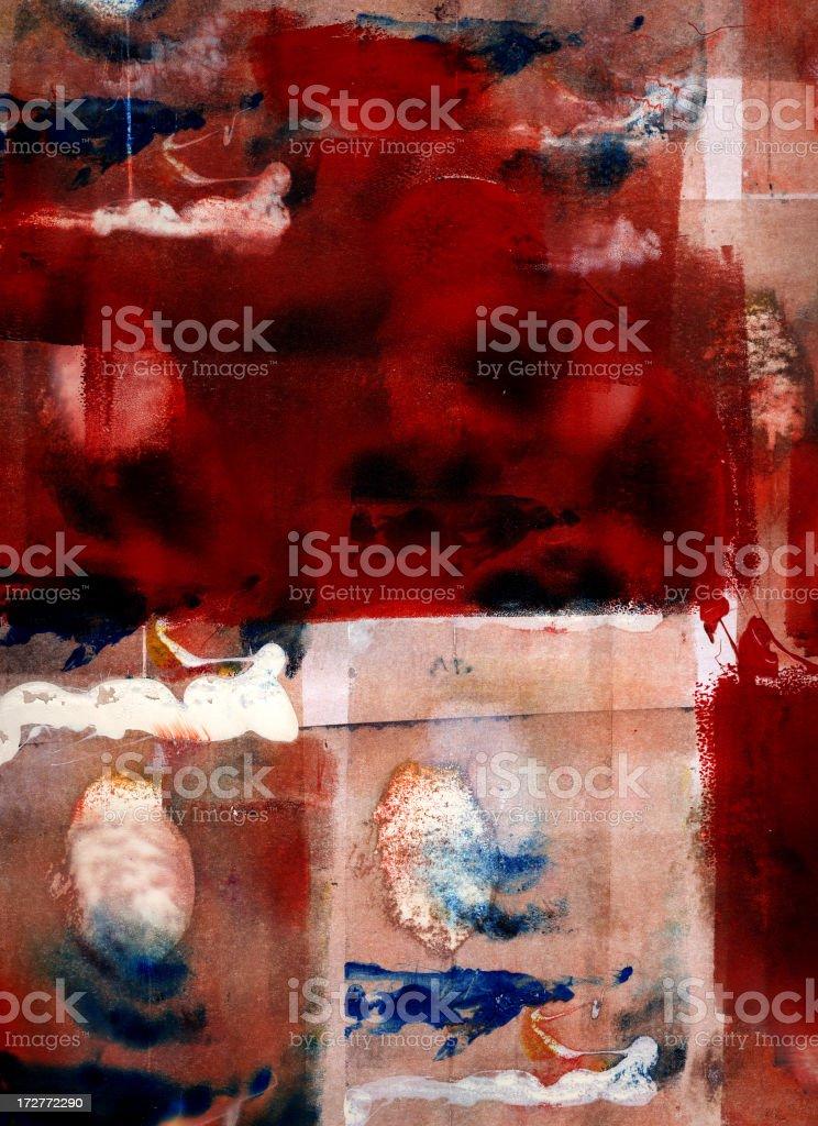 Painting J royalty-free stock photo
