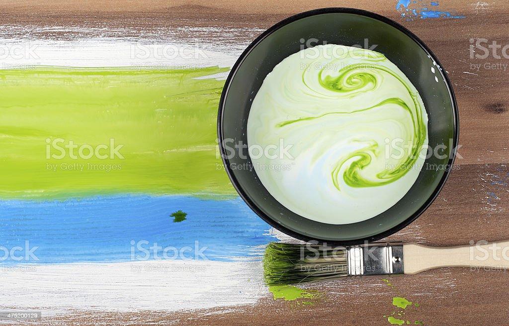 Pintura foto de stock libre de derechos