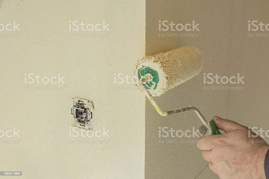 Malerarbeiten stock photo