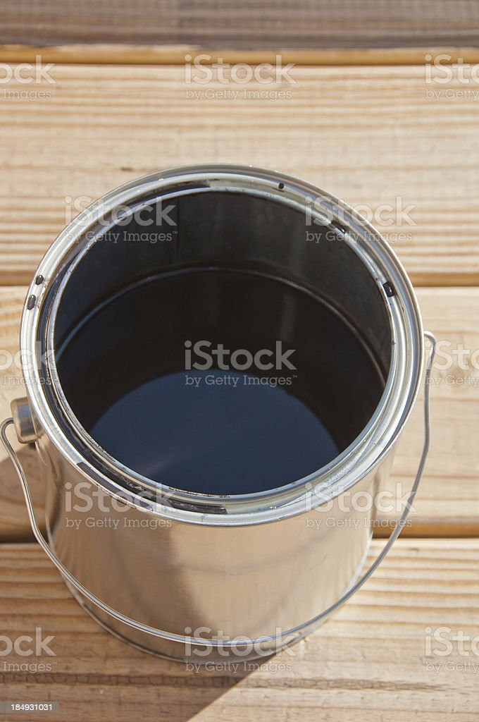 Painting project royalty-free stock photo