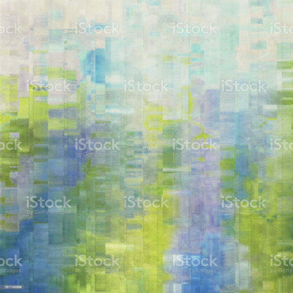 Painting texture, abstract, emerald. stock photo