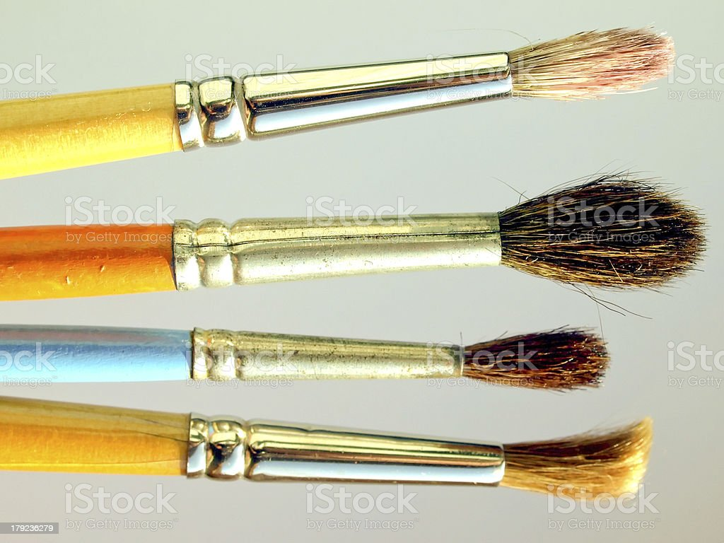 Painting tools royalty-free stock photo