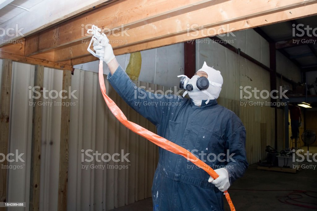 Painting Warehouse stock photo