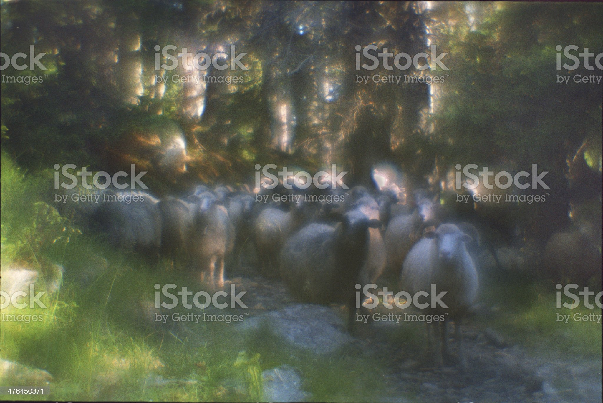 painting with light royalty-free stock photo