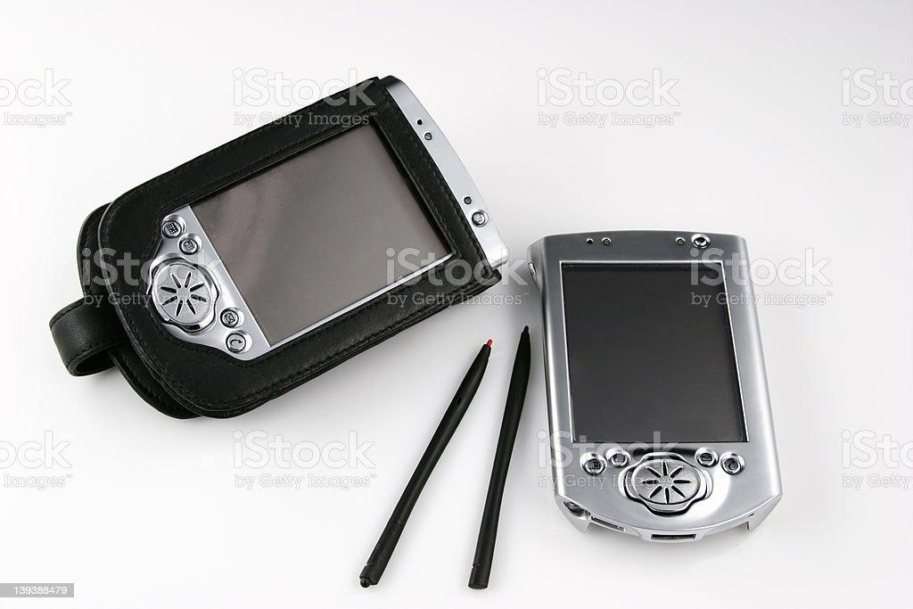PDA Pair 2 royalty-free stock photo