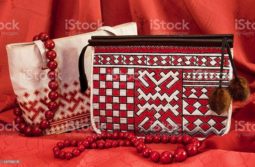 pair handbags royalty-free stock photo