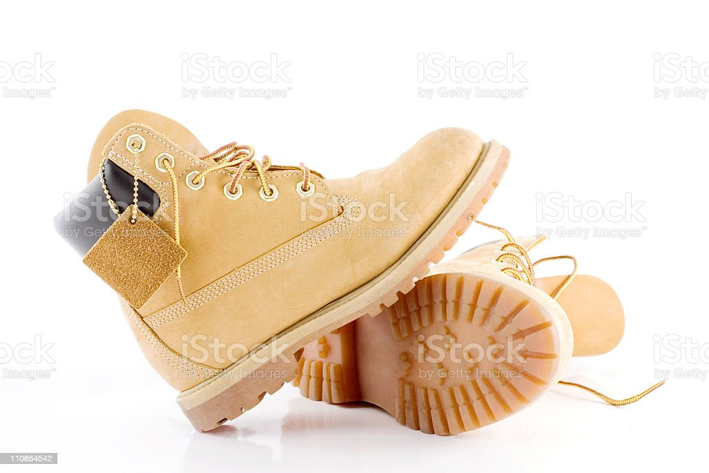 Pair of Boots royalty-free stock photo