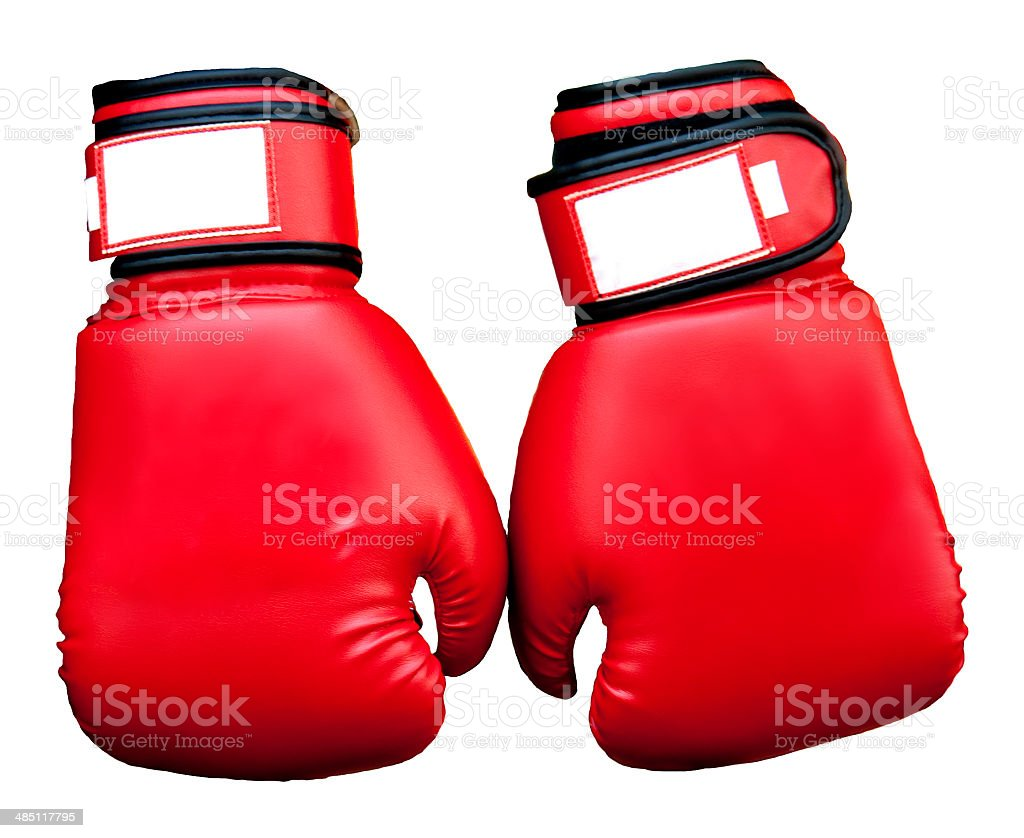 Pair of Boxing Gloves royalty-free stock photo