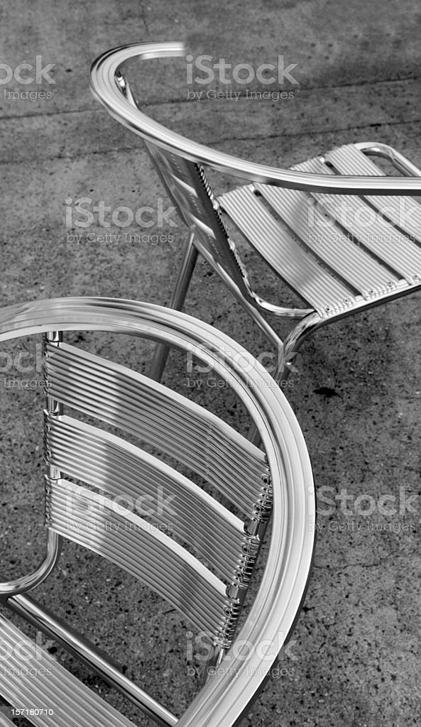 Pair of Chairs stock photo