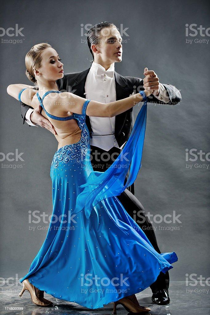 pair of dancers stock photo