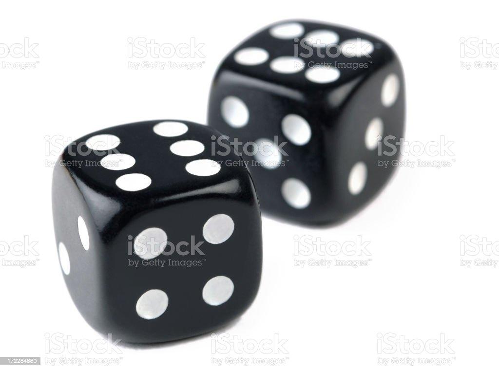 Pair of dice royalty-free stock photo