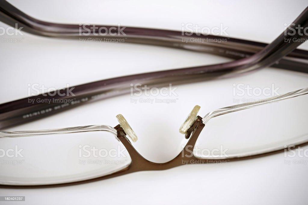 Pair of glasses stock photo