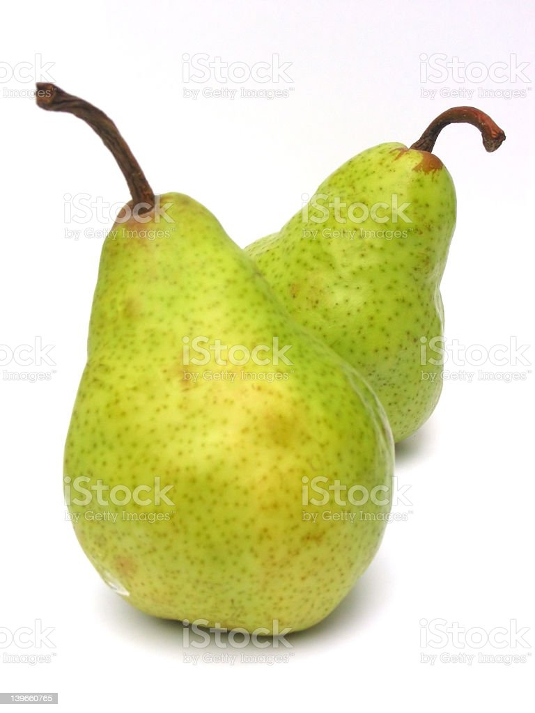 Pair of Pears royalty-free stock photo
