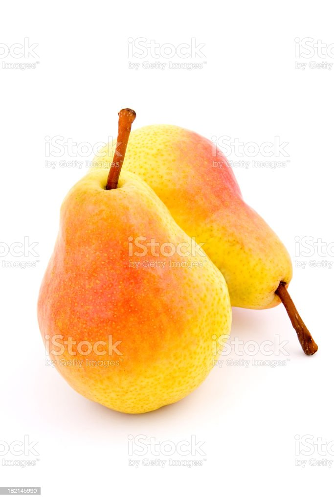 Pair of Pears # 2 royalty-free stock photo